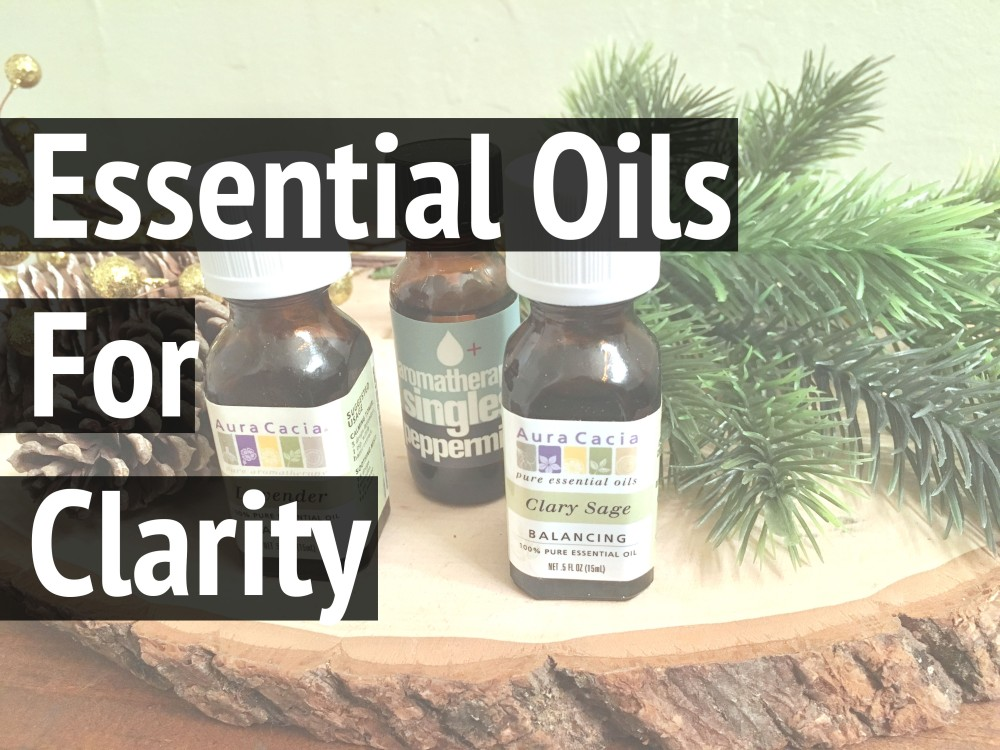 Essential Oils For Clarity